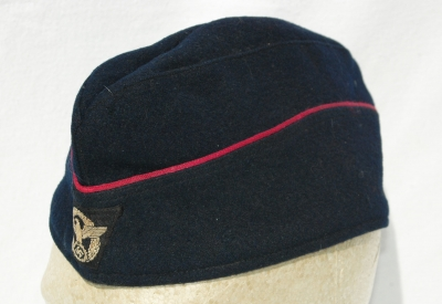 German WWII Fire Police Enlisted Overseas Cap