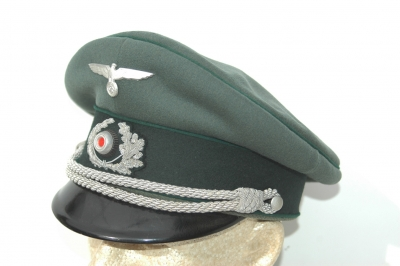 German WWII Army (HEER) Adminstration Officers Visor