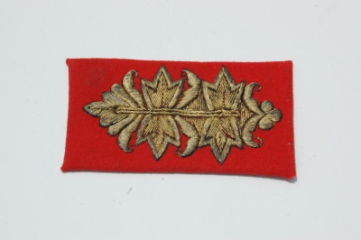 German WWII Army (HEER) Generals Parade Cuff Tab