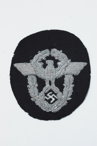 German WWII Fire Police Officers Sleeve Eagle