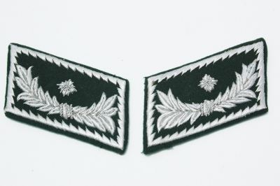 German WWII Customs Officers Collar Tabs